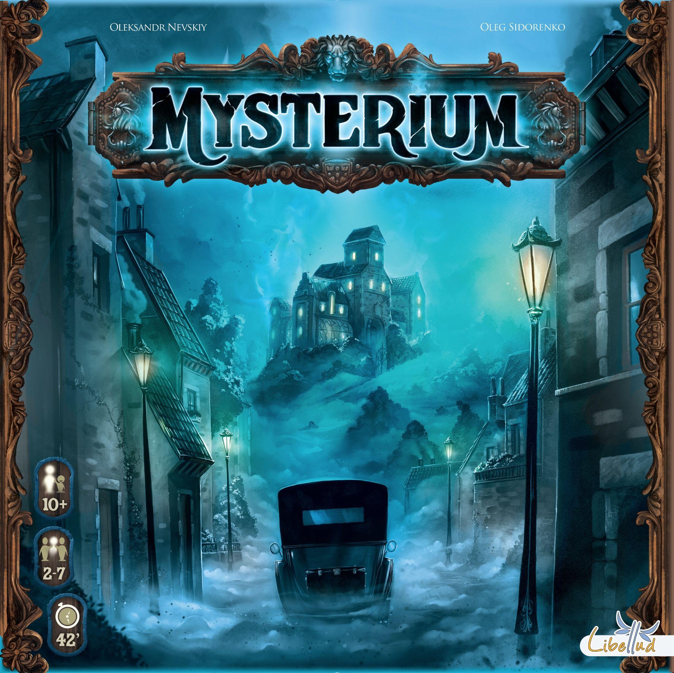 Soirée jeux : Mysterium et Magic