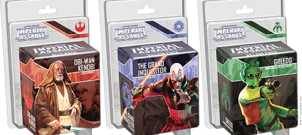 Nouveautés pour Star Wars Imperial Assault, X-Wing et A Game of Thrones !