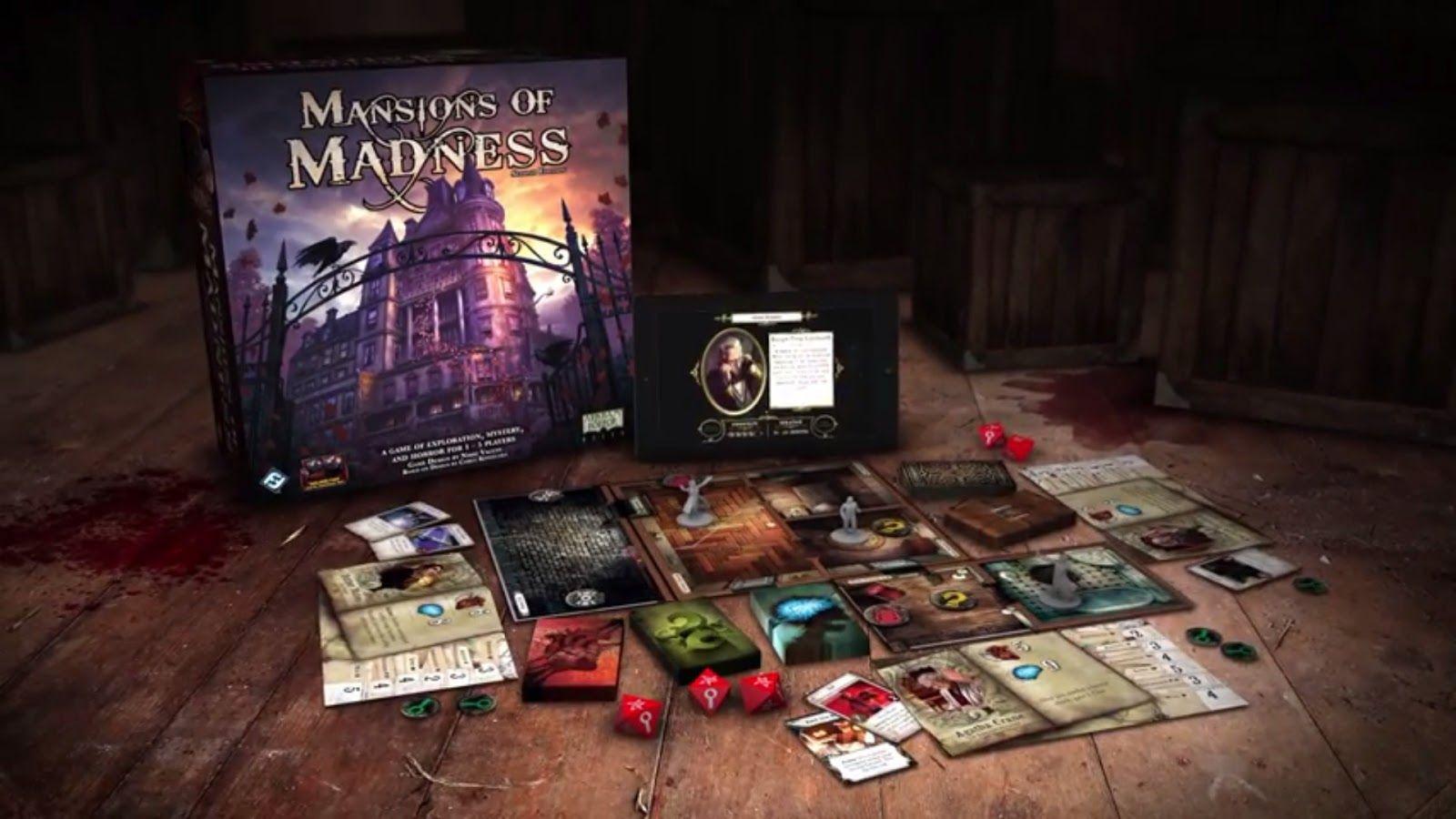 Nouveautés : Mansions of Madness, The Force Awakens, In Nomine Satanis et le nouveau pack Conquest