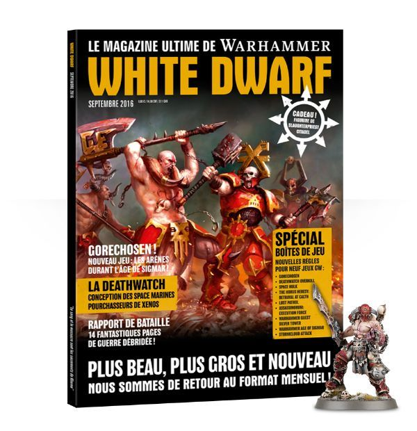 Nouveautés: White Dwarf et Magic Duel Decks