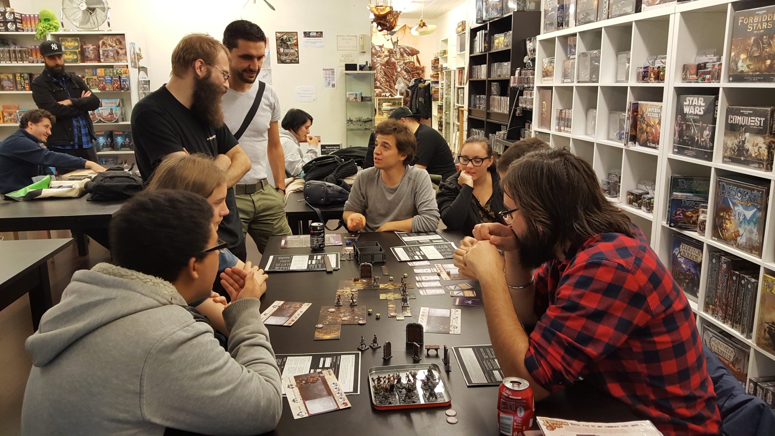 Démonstration du jeu Dungeon Saga – les photos