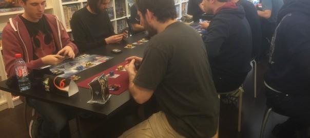 Premier tournoi Star Wars Destiny – Les résultats et les photos