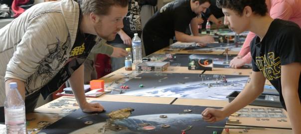 Championnat Régional Star Wars X-Wing – les photos et les résultats