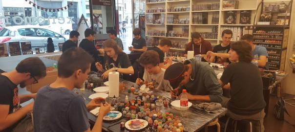 Les photos de l'Atelier Peinture