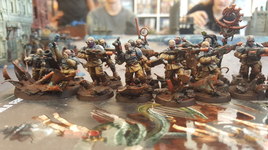Warhammer 40 000 – Bataille pour Cathodia – Bilan et photos