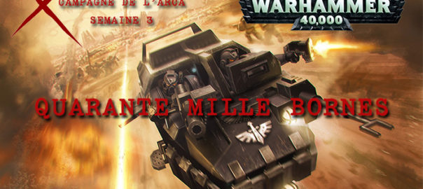 La Guerre de l'Arca – Semaine 3
